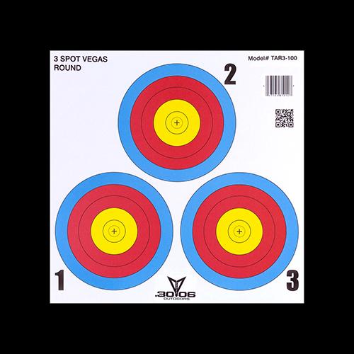30-06 3 Spot Vegas Targets 100 pk.