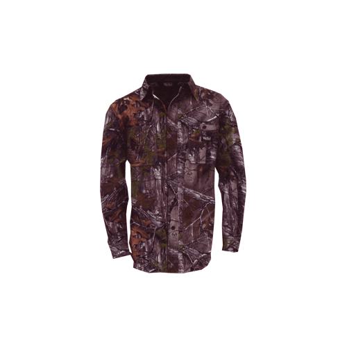 Cape Back Long Sleeve Shirt Realtree Xtra Camo 2X