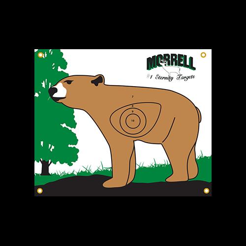 Morrell Polypropylene Target Face NASP IBO Bear