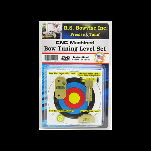 RS Bow Vise Ultimate Bowtuning Level Set CNC Aluminum