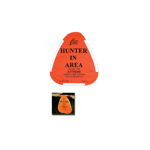 Hunter Warning Sign