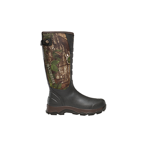 Lacrosse 4X Alpha Snake Boot Realtree Xtra Green 10