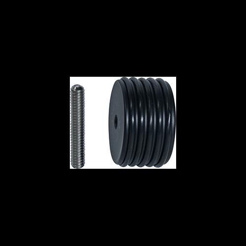 Dead Center Custom Balance Inline Weight Black 6 oz.