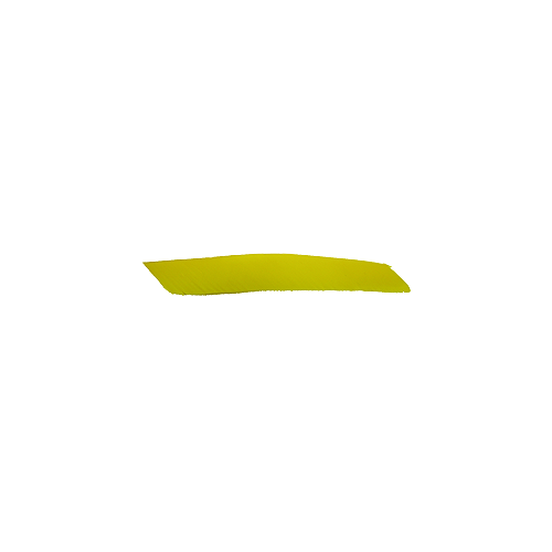 Trueflight Yellow Full Length LW Feathers