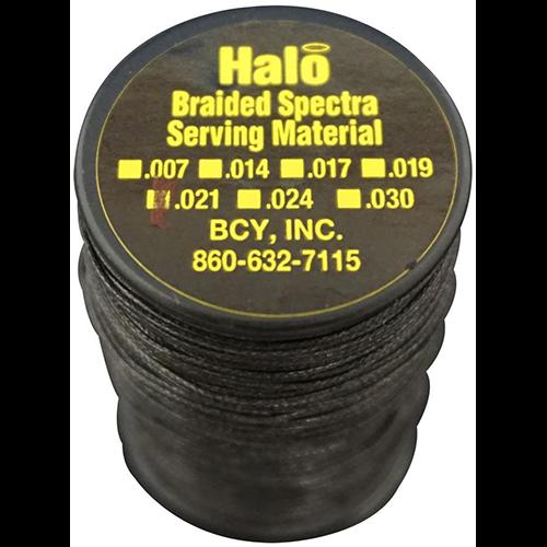 BCY Halo Serving Black .021 75 yds.