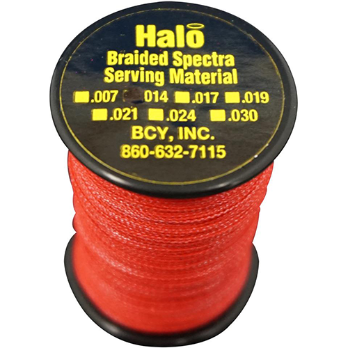 BCY Halo Serving Red .014 120 yds.