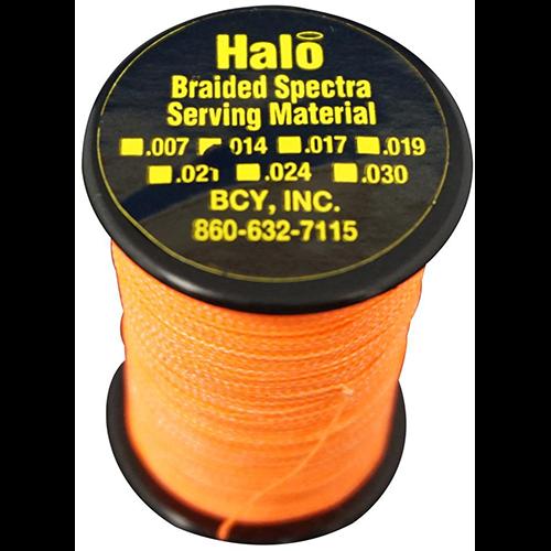 BCY Halo Serving Neon Orange .014 120 yds.