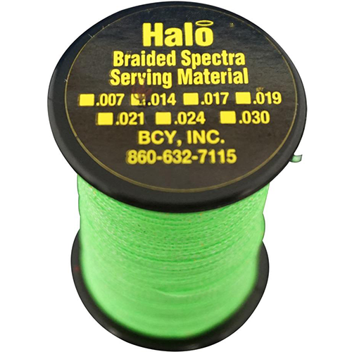 BCY Halo Serving Neon Green .014 120 yds.