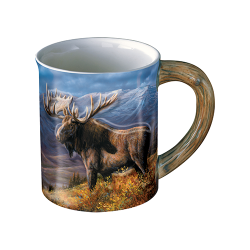 Wild Wings Sculpted Mug Moose
