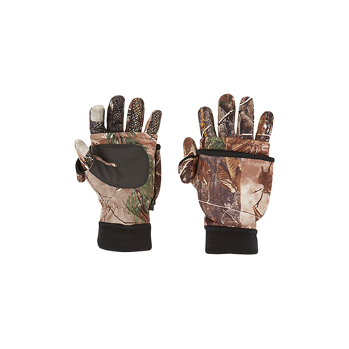 Arctic Shield Tech Finger System Gloves Realtree Edge Lg