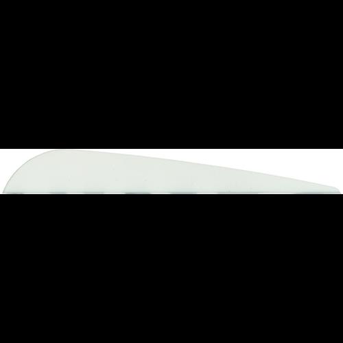 Bohning Bronco White Vanes 4 in. 100 pk.