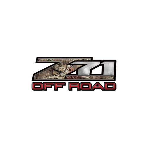 Z71 Mossy Oak Off Road Decal