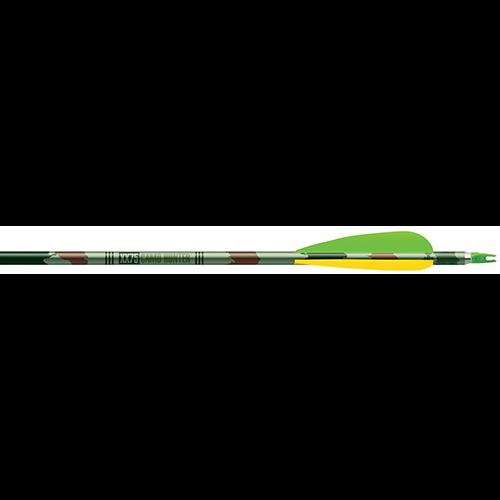 Easton Camo Hunter XX75 Arrows 2117 4 in. Vanes 6 pk.