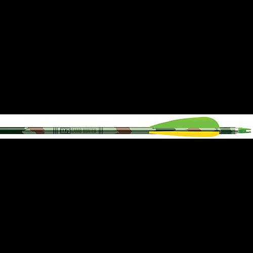 Easton Camo Hunter XX75 Arrows 2413 4 in. Vanes 6 pk.