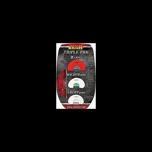 Zink Triple Pak Diaphragm Turkey Calls 3 pk.