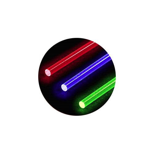 "S&S Glow Fiber .030 8"" Red 8"" Green & 8"" Blue"