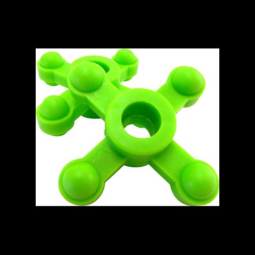 BowJax MaxJax Dampener Neon Green 5/8-1 in. 2 pk.