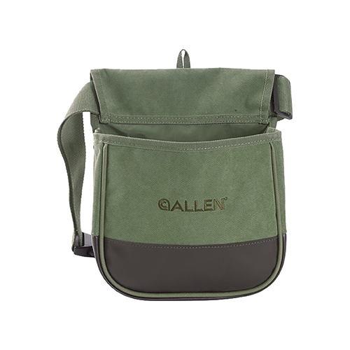 Allen Select Canvas Double Compartment Shell Bag Olive Grn