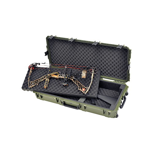 SKB iSeries Double Bow/Rifle Case Green 42 in.