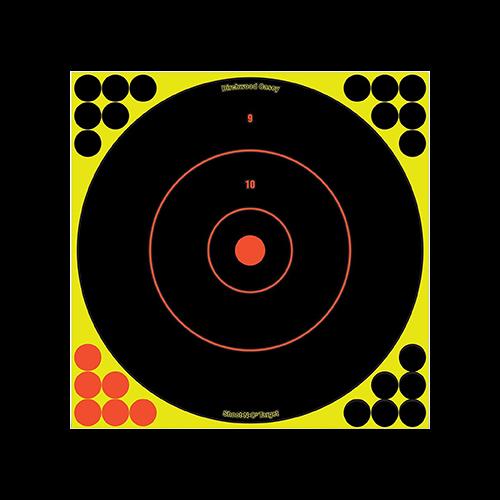 Birchwood Casey Shoot-N-C Target Bullseye 12in 12pk