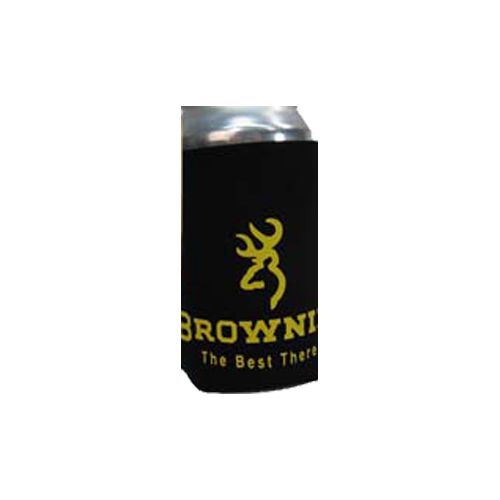 Browning 12oz Can Koozie Black/Yellow