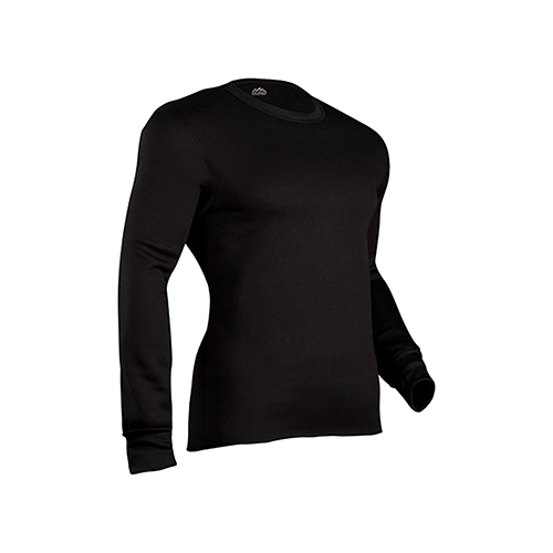ColdPruf Expedition Crew Black Large