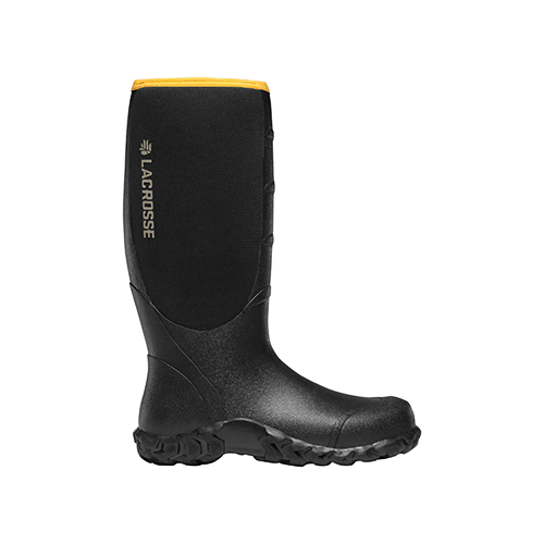 LaCrosse Alpha Lite Boot Black 5mm 9
