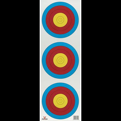 30-06 Vertical 3 Spot Target 100 pk.