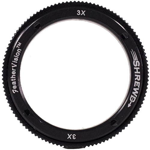 Shrewd 4x Lens with Housing Verde Vitri 29mm Mini Mag