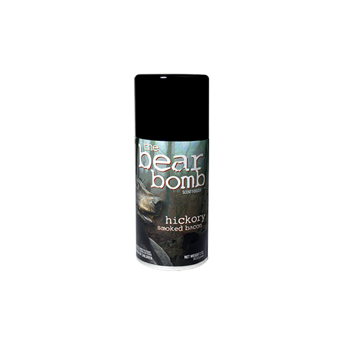 *Buckbomb Bear Hickory Smoked Bacon 5oz