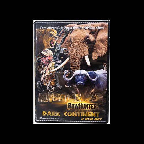 Tom Miranda Adventure Bowhunter Dark Continent Africa DVD Set
