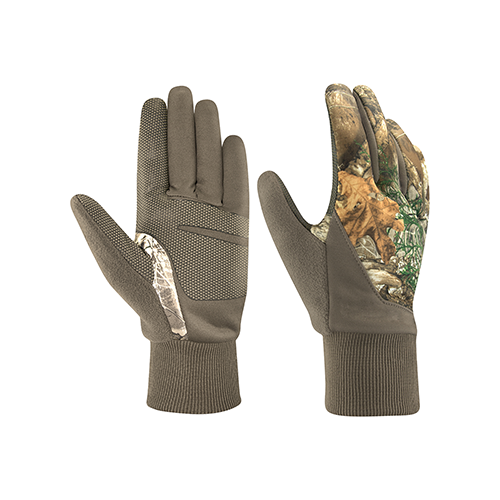 Hot Shot Youth Grazer Glove Realtree Edge Large