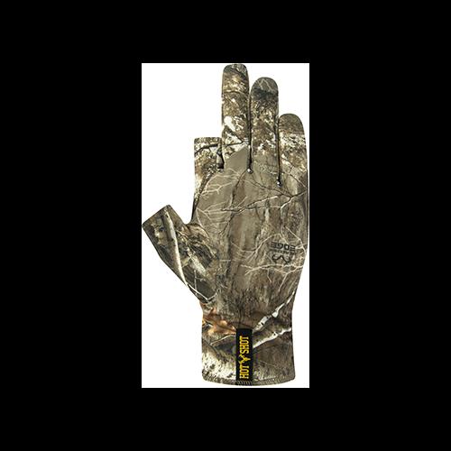 Hot Shot Copperhead Stretch Gloves Realtree Edge OSFA