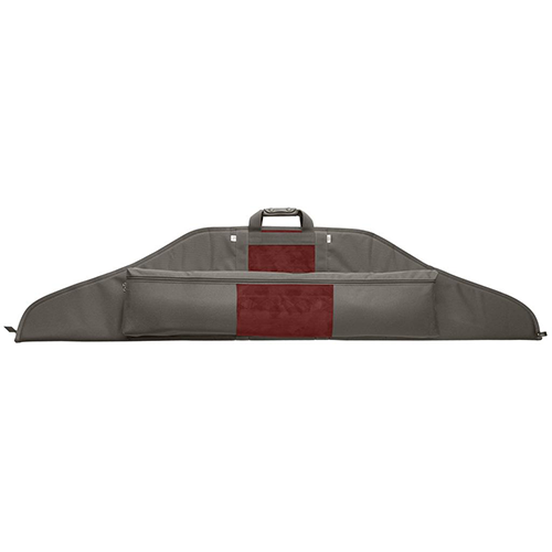 Neet NK-RC Recurve Bow Case Grey/Burgandy 62 in.