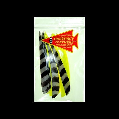 Trueflight Feather Combo Pack Barred/Chart 5 in. LW ShieldCut