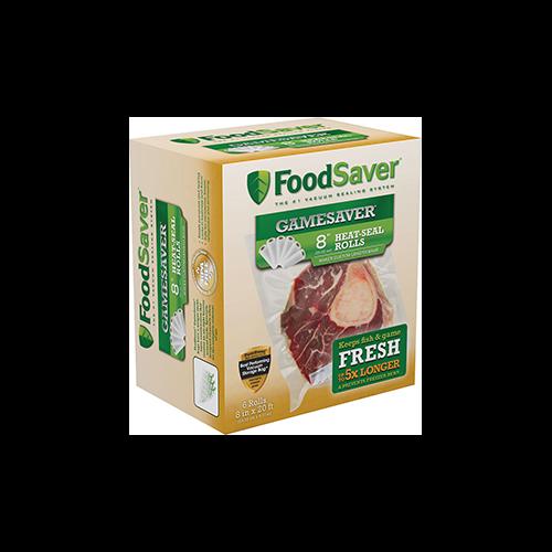 Food Saver Game Saver Bag Rolls 8 in.x 20ft. 2 pk.