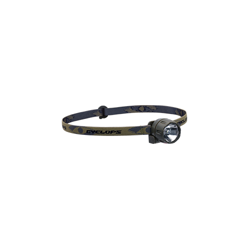 Cyclops Atom XP Headlamp Camo Strap