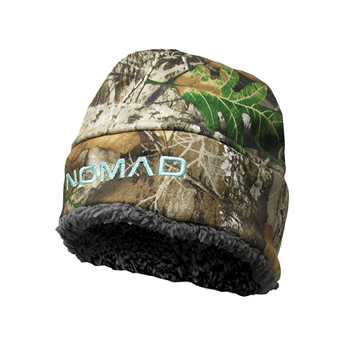 Nomad Womens Harvester Beanie Realtree Edge/Charcoal Grey