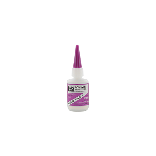 * Bob Smith Insta-Cure Plus Glue .5 oz.