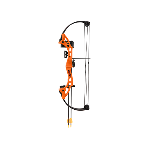 Bear Brave Bow Set Orange 13.5-19in. 15-25lbs. RH