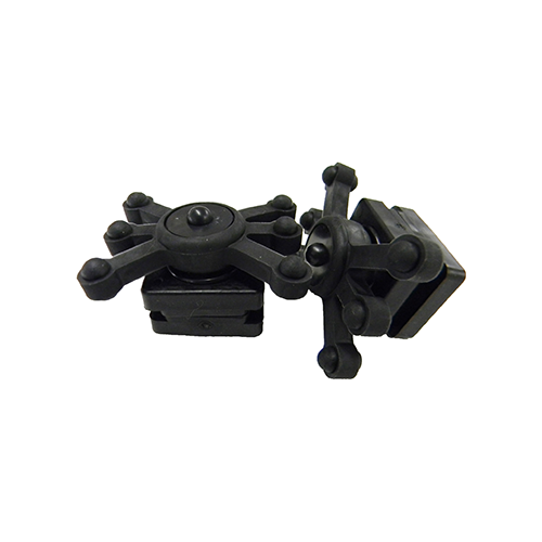 BowJax Magnum Dampener Split Limb Black 2 pk.