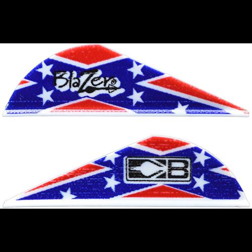 Bohning Blazer Confederate Flag Vanes 36 pk.
