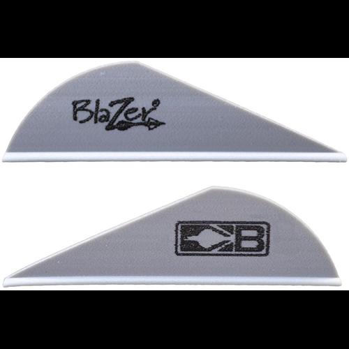 Bohning Blazer Silver Vanes 36 pk