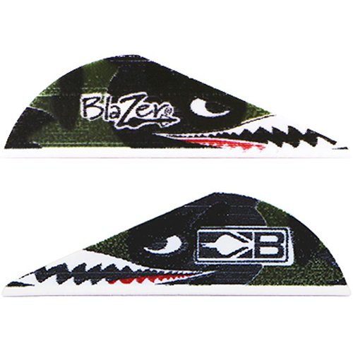 Bohning Blazer Flying Tiger Shark Vanes 36 pk.