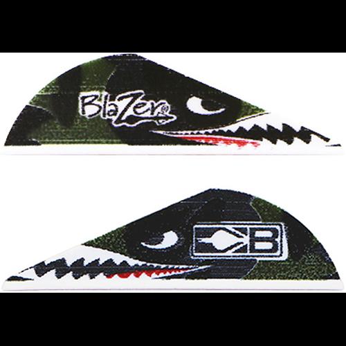Bohning Blazer Vanes Flying Tiger Shark 100 pk.