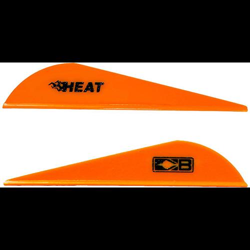 Bohning Heat Neon Orange Vanes 36 pk.