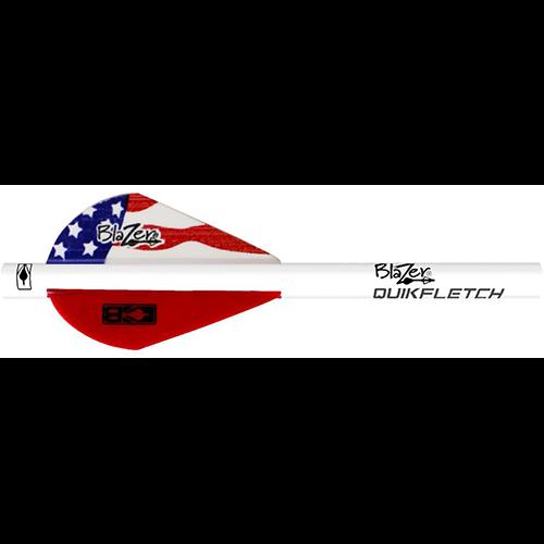 Bohning Blazer QuickFletch American Flag 6 pk.
