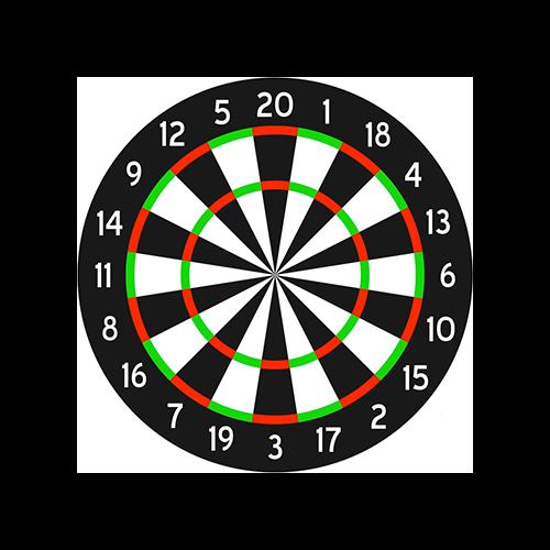 Duramesh Archery Target Dartboard 25 in.x 32 in.