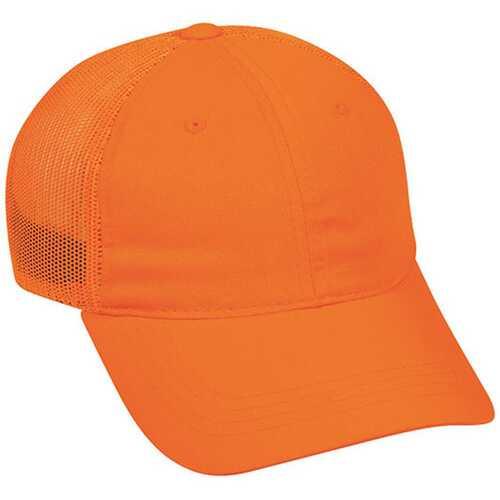 Outdoor Cap Mesh Back Hat Low Profile Blaze