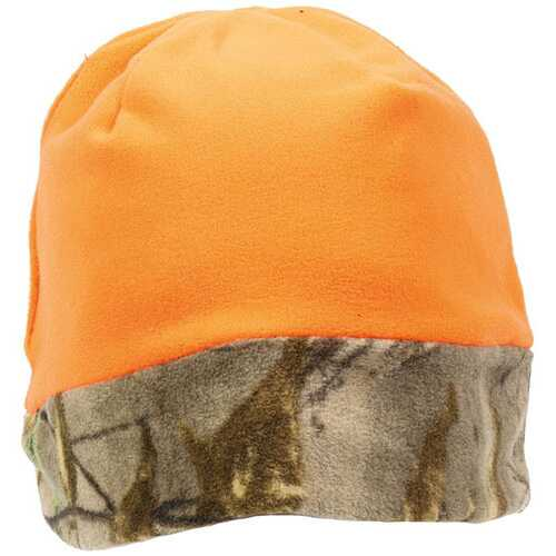 Outdoor Cap Reversible Fleece Beanie Realtree Edge/Blaze